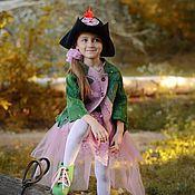 Работы для детей, handmade. Livemaster - original item Felted cardigan for girls Elven tale. Handmade.