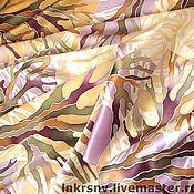 """Аксессуары ручной работы. Ярмарка Мастеров - ручная работа Платок """"Деревья"""". Handmade."""