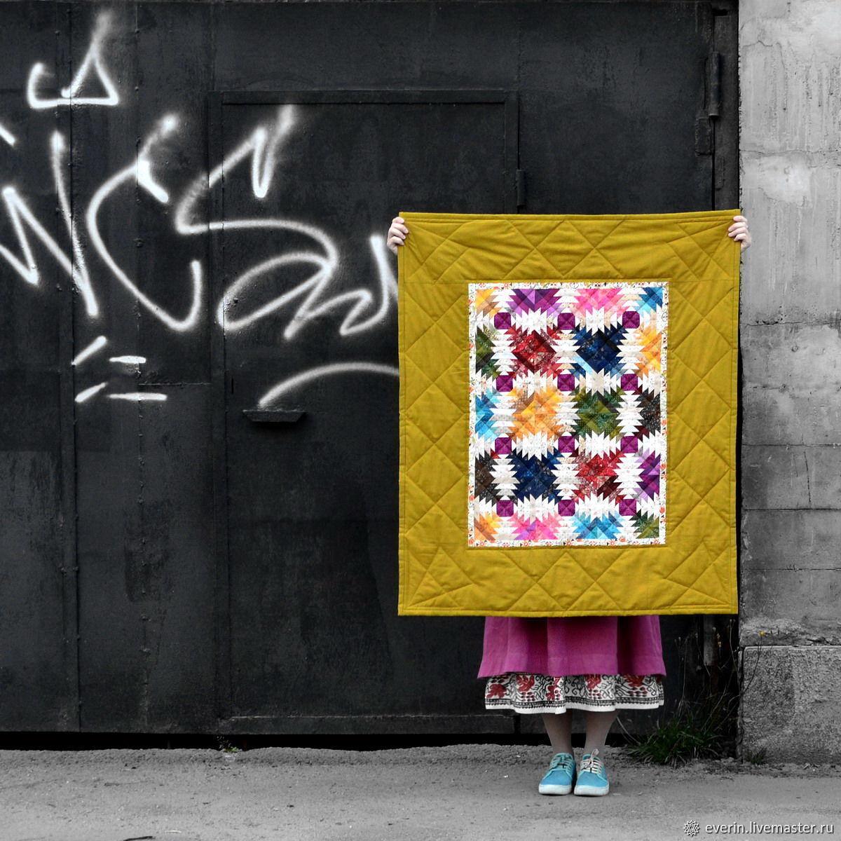 Детское лоскутное одеяло русское, Пледы, Санкт-Петербург, Фото №1