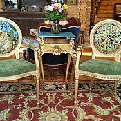 Кресла ручной работы. Ярмарка Мастеров - ручная работа Кресла с гобеленовой обивкой Уильяма Морриса. Handmade.