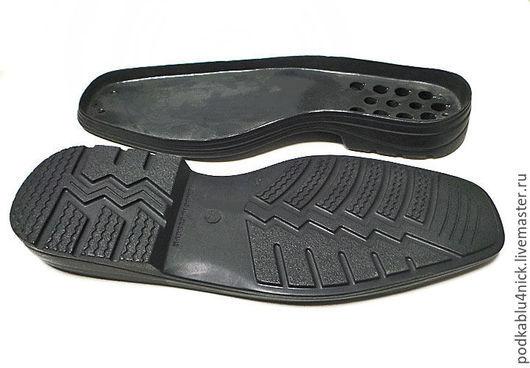 Другие виды рукоделия ручной работы. Ярмарка Мастеров - ручная работа. Купить Подошва для обуви Хантер. Handmade. Черный