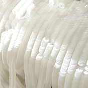 Материалы для творчества handmade. Livemaster - original item French sequins 4mm glossy crystal 7001. Handmade.