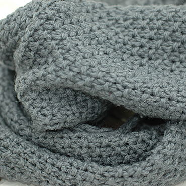 Accessories. Livemaster - original item Scarves: Snood cozy pure wool warm. Handmade.