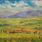 """Картины и панно ручной работы. Ярмарка Мастеров - ручная работа Картина """"Тоскана"""". Handmade."""