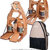 Материалы для творчества handmade. Livemaster - original item The Joy spinning wheel carry bag! One or two pedal. Handmade.
