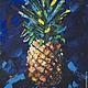 очень сладкий и абстрактный ананас