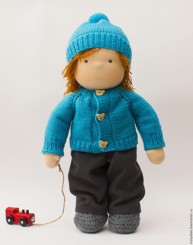 Doll - boy, 40 - 42 cm, Stuffed Toys, Moscow,  Фото №1