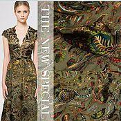 Материалы для творчества handmade. Livemaster - original item Chiffon-satin 100% silk, Paisley. Handmade.