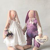 Аксессуары ручной работы. Ярмарка Мастеров - ручная работа Зайки свадебные. Свадебные аксессуары, подарки. Handmade.