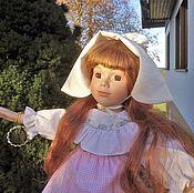 Куклы и игрушки handmade. Livemaster - original item 48 Gretta Porcelain Interior Doll. Handmade.