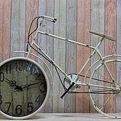 Для дома и интерьера ручной работы. Ярмарка Мастеров - ручная работа Часы велосипед - настенные -  очень большие. Handmade.