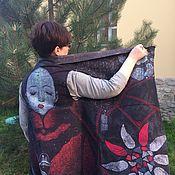 Одежда handmade. Livemaster - original item Felted vest-transformer
