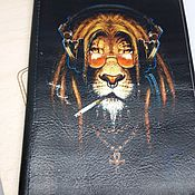 Канцелярские товары handmade. Livemaster - original item Cover ,, Leo