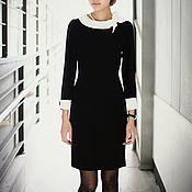 """Одежда ручной работы. Ярмарка Мастеров - ручная работа Платье """"Черно-белая классика"""". Handmade."""