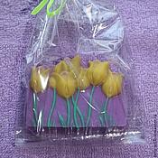 """Косметика ручной работы. Ярмарка Мастеров - ручная работа Мыло """"желтые тюльпаны"""". Handmade."""
