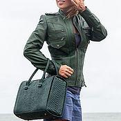 Одежда handmade. Livemaster - original item Jacket genuine leather (50 colors). Leather jacket. Handmade.
