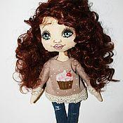 Куклы и игрушки ручной работы. Ярмарка Мастеров - ручная работа Кукла-малышка. Handmade.