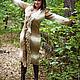 Верхняя одежда ручной работы. Ярмарка Мастеров - ручная работа. Купить пальто вязаное ручной работы из альпаки Мадрид. Handmade.