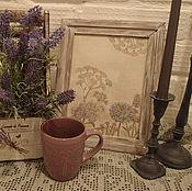 Для дома и интерьера ручной работы. Ярмарка Мастеров - ручная работа Панно в пастельных тонах. Handmade.