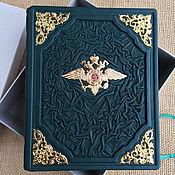 Канцелярские товары handmade. Livemaster - original item Diary in leather bound. Handmade.
