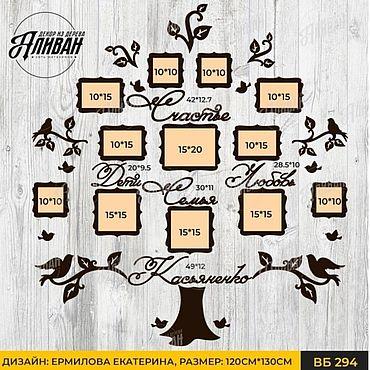 Дизайн и реклама ручной работы. Ярмарка Мастеров - ручная работа Семейное дерево Семейное древо купить. Handmade.