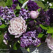 Цветы и флористика handmade. Livemaster - original item A bouquet of clay