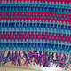 """Текстиль, ковры ручной работы. Ярмарка Мастеров - ручная работа. Купить Вязаное покрывало для кресла """"Капельки"""". Handmade. Покрывало вязаное"""