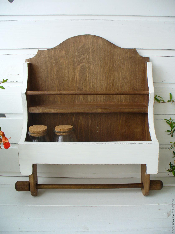 kitchen shelves shabby chic shop online on livemaster with rh livemaster com