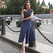Одежда handmade. Livemaster - original item ASTORIA dress natural fabric. Handmade.