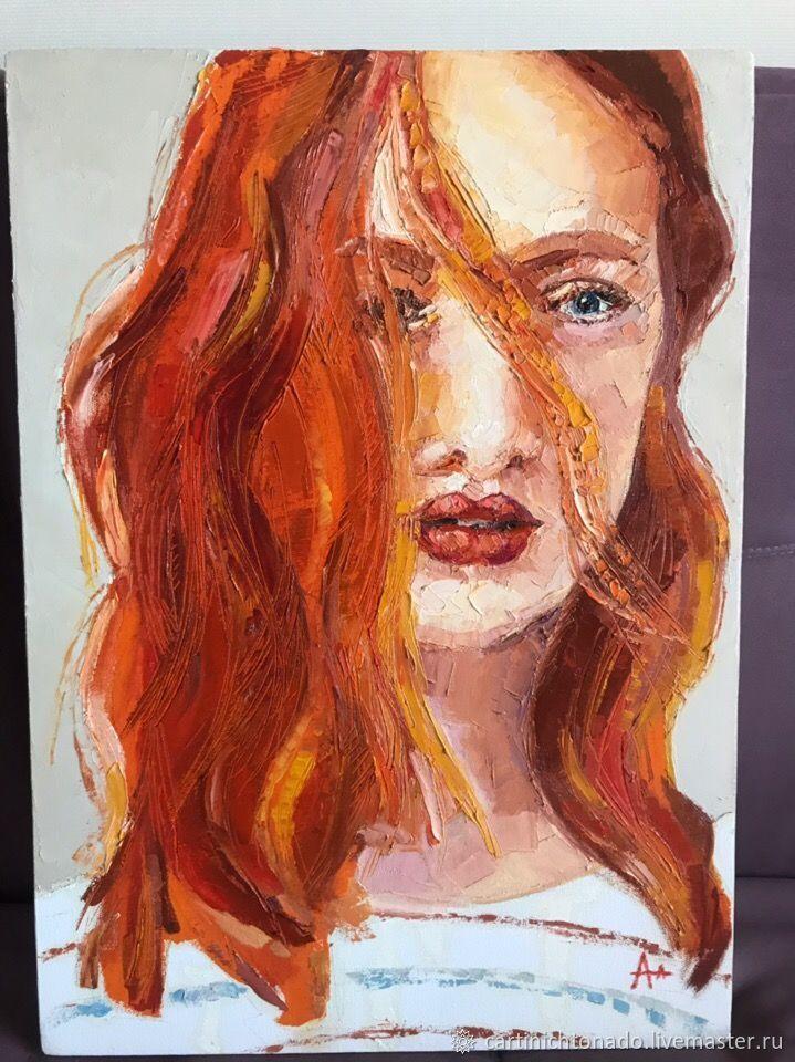 Картины: Портрет маслом, Детская, Севастополь, Фото №1