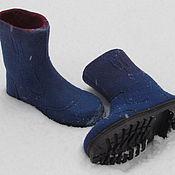Обувь ручной работы. Ярмарка Мастеров - ручная работа Полусапожки мужские. Handmade.