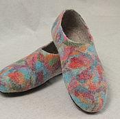 Обувь ручной работы. Ярмарка Мастеров - ручная работа Тапочки валяные женские. Handmade.