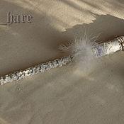 """Фен-шуй и эзотерика ручной работы. Ярмарка Мастеров - ручная работа Волшебная палочка """"Белая цапля"""". Для примера.. Handmade."""