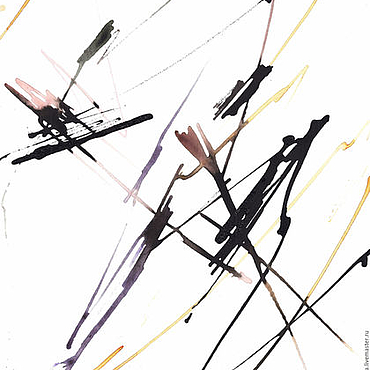 Картины и панно ручной работы. Ярмарка Мастеров - ручная работа Линейное время. Handmade.