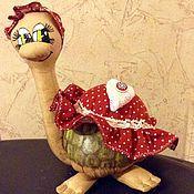 Куклы и игрушки ручной работы. Ярмарка Мастеров - ручная работа Черепаха ароматная ванильно-корично-кофейная. Handmade.