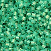 Бисер ручной работы. Ярмарка Мастеров - ручная работа Delica DB-627 Dyed Aqua Green Alabaster японский бисер делика Миюки. Handmade.