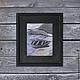 Пейзаж ручной работы. Лодка №6. Анастасия Таюрская Душевные картины. Интернет-магазин Ярмарка Мастеров. Серо-синий, лодки