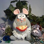 Мягкие игрушки ручной работы. Ярмарка Мастеров - ручная работа Мягкие игрушки: Мышь. Handmade.