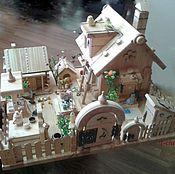 Куклы и игрушки ручной работы. Ярмарка Мастеров - ручная работа Интерьерный домик. Handmade.