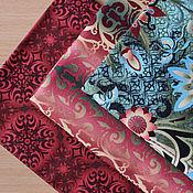 Материалы для творчества ручной работы. Ярмарка Мастеров - ручная работа Ткань для пэчворка Shangri-La Red. Handmade.