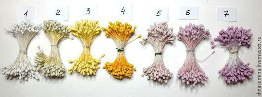 Тычинки японский дизайн круглые матовые д3мм 1 головка - 0,13 руб.  Фасовка пучками: 1 пучок - 37 руб. (в пучке около 144 тычинок/280 головок по 0,13 руб, продается только в расфасованном виде).