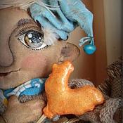 Куклы и игрушки ручной работы. Ярмарка Мастеров - ручная работа Домовой Стефан - интерьерная кукла. Handmade.