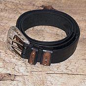 Аксессуары handmade. Livemaster - original item Women`s genuine leather belt in a single copy.. Handmade.