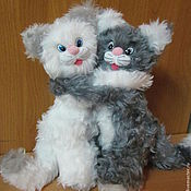Stuffed Toys handmade. Livemaster - original item A couple in love. Handmade.