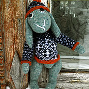"""Куклы и игрушки ручной работы. Ярмарка Мастеров - ручная работа Заяц  """"Ури"""". Handmade."""