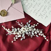 Украшения в прическу ручной работы. Ярмарка Мастеров - ручная работа Свадебное украшение для головы. Handmade.