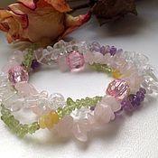 Украшения handmade. Livemaster - original item Triple bracelet