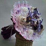 Цветы и флористика ручной работы. Ярмарка Мастеров - ручная работа Букет из мягких игрушек. Handmade.