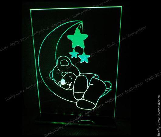 ночник с зеленой подсветкой