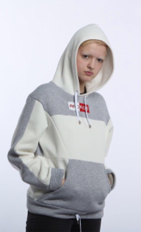 Спортивная одежда ручной работы. Ярмарка Мастеров - ручная работа. Купить Худи комбинированное. Handmade. Спорт, модно, худи